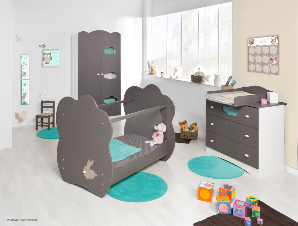 rideau chambre bebe animaux avec des id es int ressantes pour la conception de la. Black Bedroom Furniture Sets. Home Design Ideas