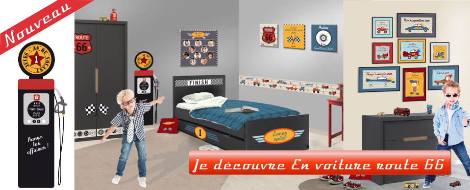 Nouvelle collection En voiture route 66