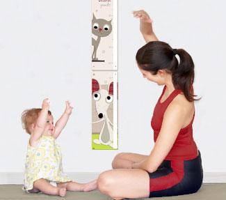 Toise pour enfant gar on et fille personnalisable - Toise en bois personnalisable ...