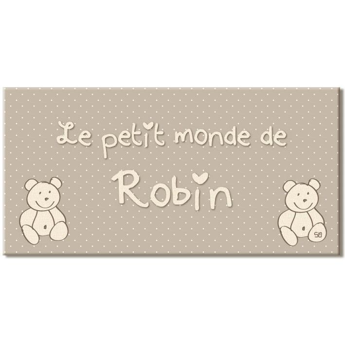 Plaque pr nom porte ourson - Porte prenom ...