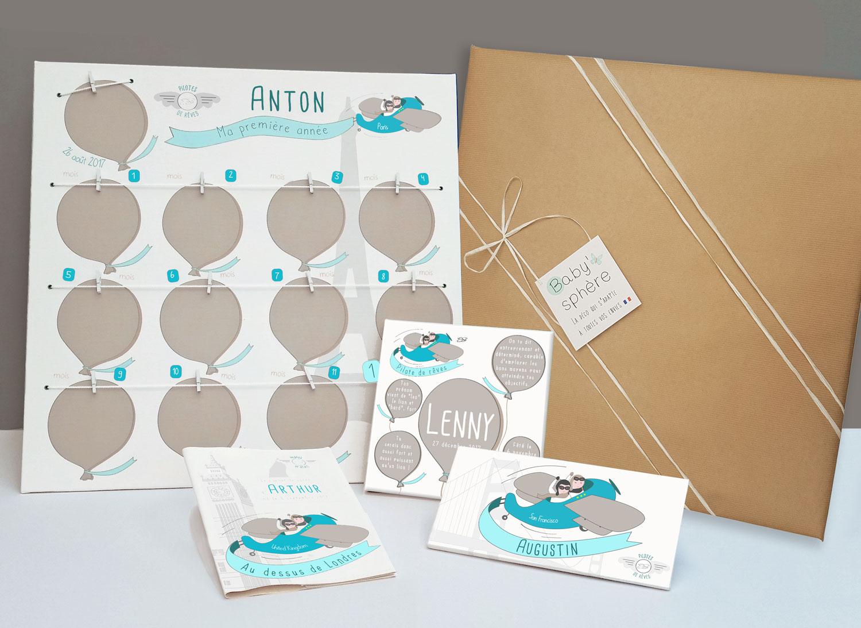 une box naissance ou baptême 100% personnalisée