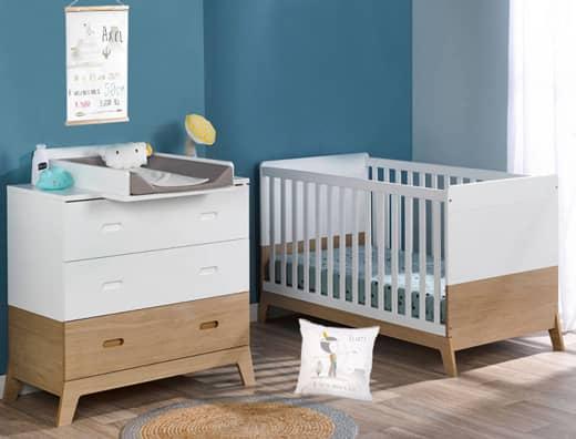 Aménager la chambre de bébé avec le juste nombre de meubles