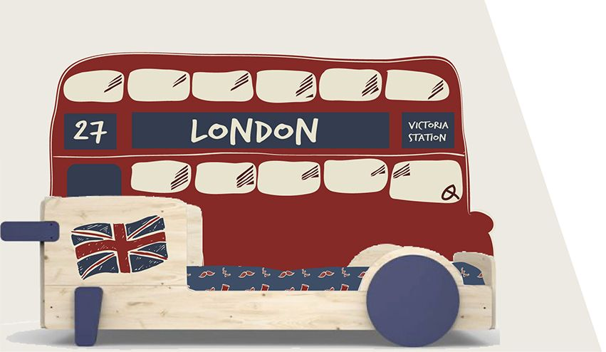 1ère proposition lit bus London