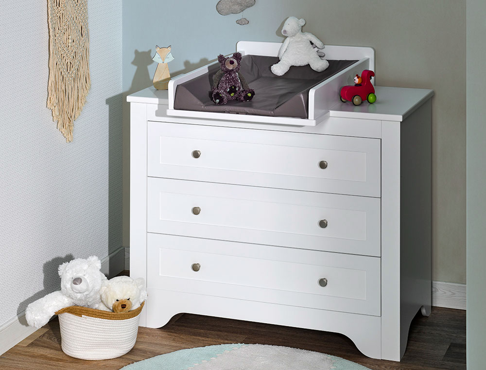 Rangement chambre bébé SELECT avec tiroirs