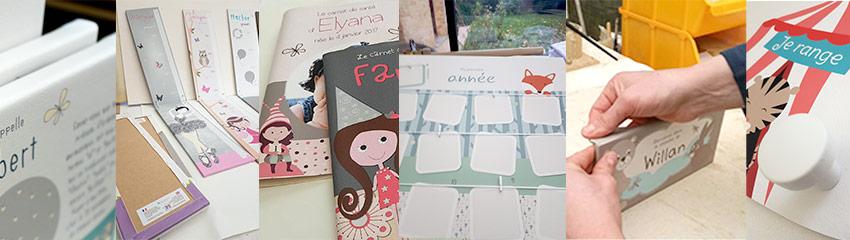 Création et fabrication d'articles de décoration dans l'atelier Baby'Sphère