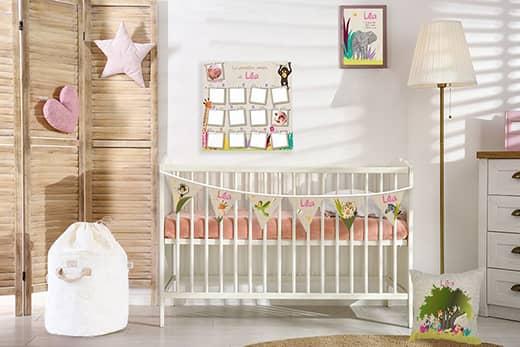 Enfin une déco bébé savane spécialement conçue pour les filles