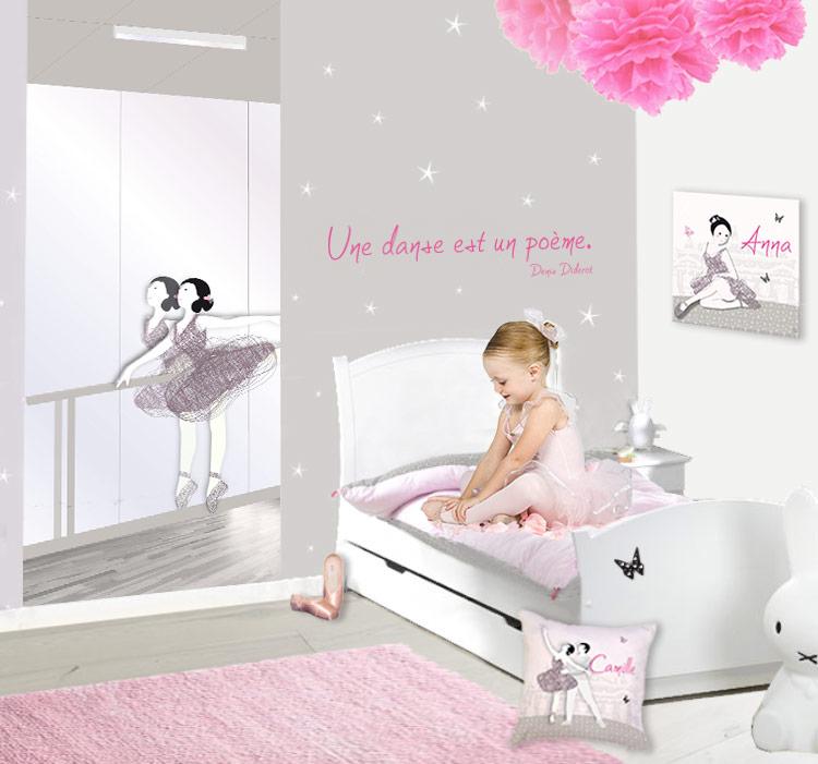 Décoration danseuse classique pour chambre de fille