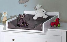 Plan à langer pour bébé accordé à la gamme SELECT blanc