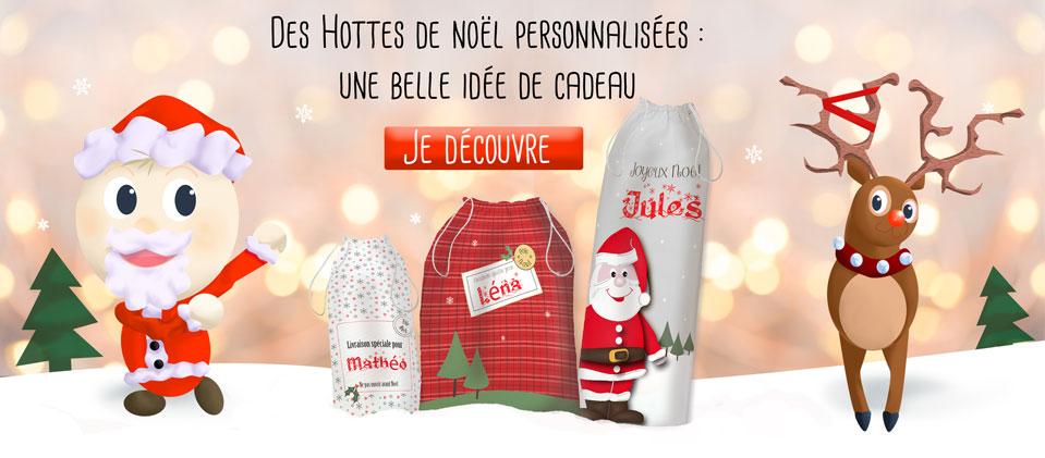 Des hottes de Noël personnalisées et exclusives