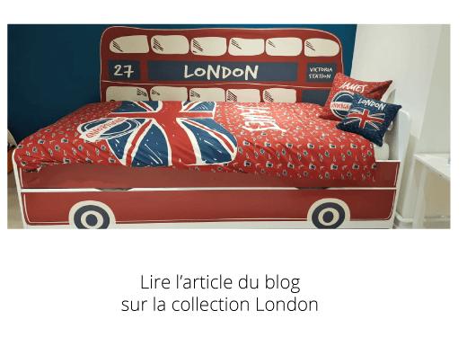 Découvrez la collection inédite London spécialement créée pour James