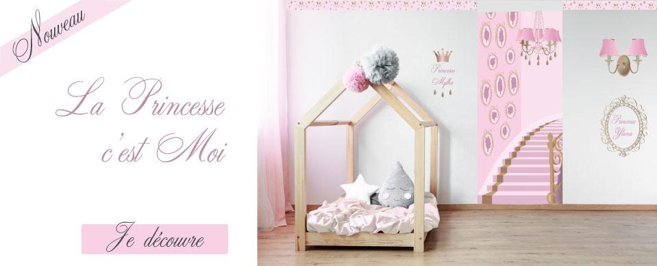 Et votre fille devient une Princesse dans sa chambre
