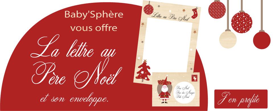 On vous offre la lettre au Père Noël !