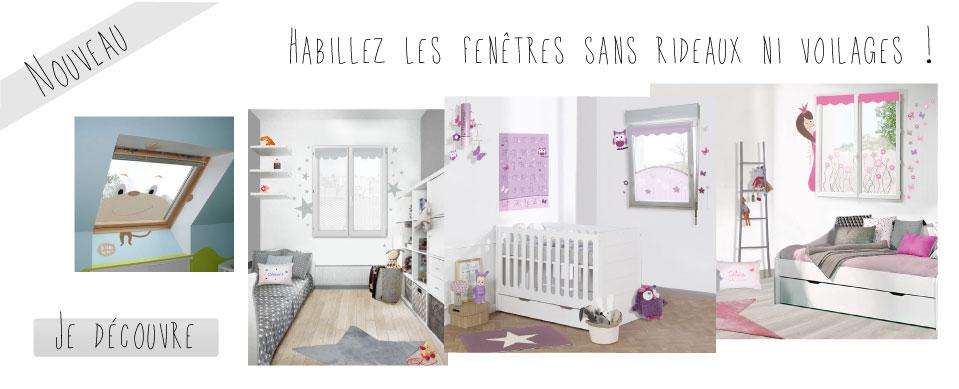 Nouveau : habillez les fenêtres de vos enfants sans voilage ni rideau