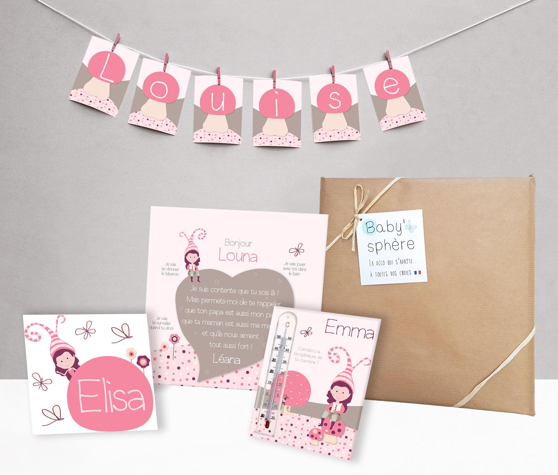 Box Naissance Deco à offrir en cadeau de naissance ou de baptême